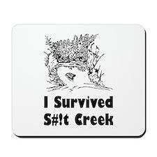 Shit Creek Mousepad