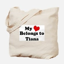 My Heart: Tiana Tote Bag