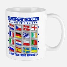 European Soccer 2012 Mug