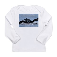 Wild Horses Long Sleeve Infant T-Shirt
