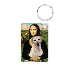 Mona Lisa / Lab (y) Keychains
