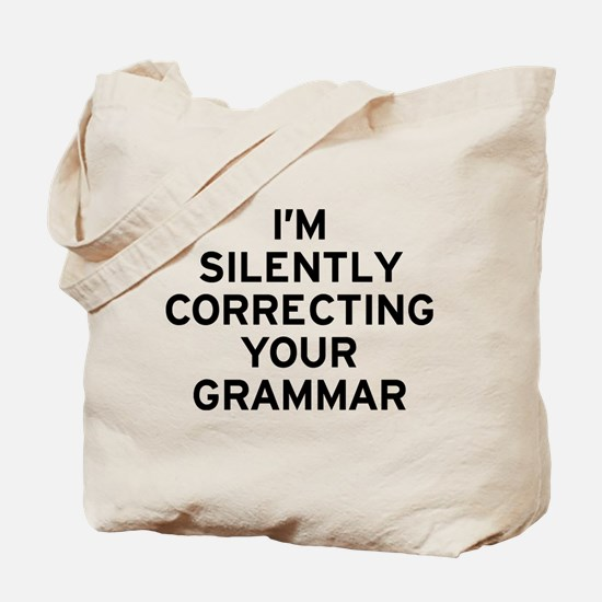 I'm Correcting Tote Bag