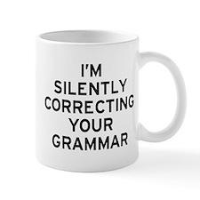 I'm Grammar Small Mugs