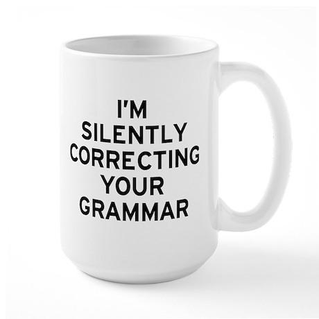 I'm Correcting Large Mug