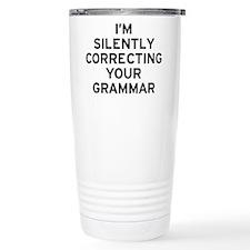 I'm Grammar Thermos Mug