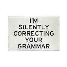 I'm Grammar Rectangle Magnet