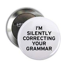 "I'm Grammar 2.25"" Button"