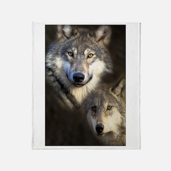 Wolfpack Throw Blanket