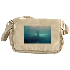 Tune In Messenger Bag