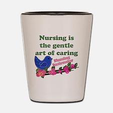 Funny Registered nurse Shot Glass