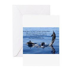 Trust Divine Orchestration Greeting Cards (Pk of 2