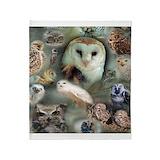 Barn owl Blankets
