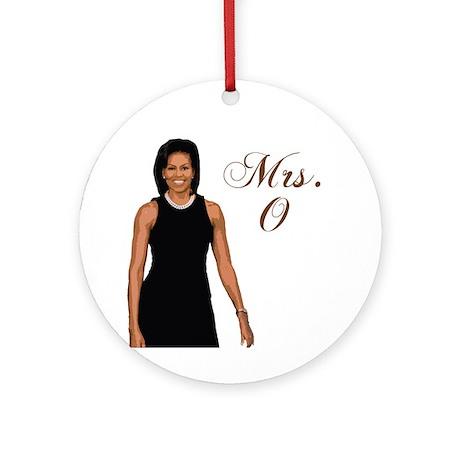 Michelle Obama Ornament (Round)