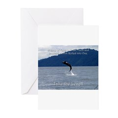Take the Leap Greeting Cards (Pk of 20)