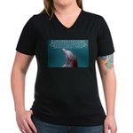 Special Agent Women's V-Neck Dark T-Shirt
