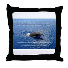Speak from the Heart Throw Pillow