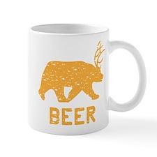 Bear + Deer = Beer Small Mug