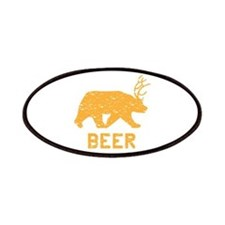 Bear + Deer = Beer Patches