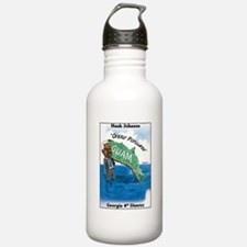 """Dumbest Congressman 2"" Water Bottle"
