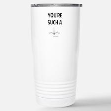 QT Stainless Steel Travel Mug