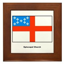 Episcopal Church Flag Framed Tile