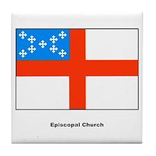 Episcopal Church Flag Tile Coaster