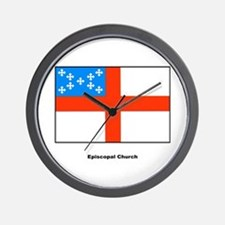 Episcopal Church Flag Wall Clock