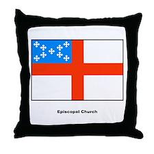 Episcopal Church Flag Throw Pillow
