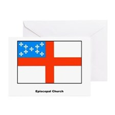 Episcopal Church Flag Greeting Cards (Pk of 10