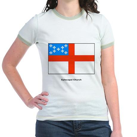 Episcopal Church Flag Jr. Ringer T-Shirt