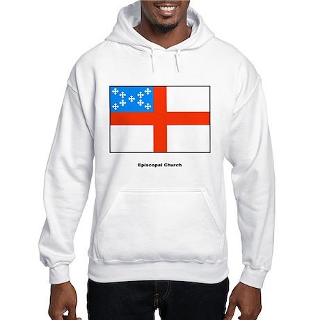 Episcopal Church Flag (Front) Hooded Sweatshirt