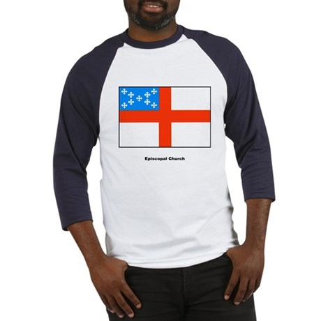 Episcopal Church Flag Baseball Jersey