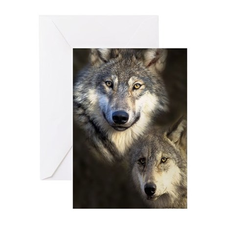 Wolfpack Greeting Cards (Pk of 10)