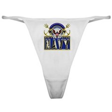 USN Eagle Anchors Honor Classic Thong