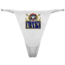 US Navy Eagle Anchors Trident Classic Thong