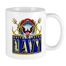 US Navy Eagle Anchors Trident Mug