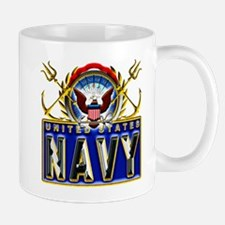 US Navy Eagle Anchors Trident Mug