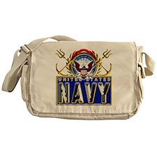 US Navy Eagle Anchors Trident Messenger Bag