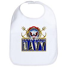 US Navy Eagle Anchors Trident Bib