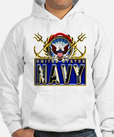 US Navy Eagle Anchors Trident Hoodie