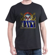 US Navy Eagle Anchors Trident T-Shirt