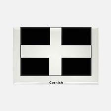 Cornish Cornwall Flag Rectangle Magnet