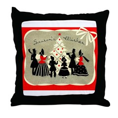 Deco Christmas #1 Throw Pillow