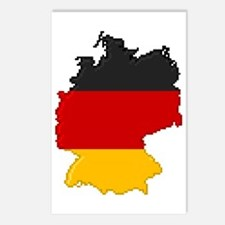 """""""Pixel Germany"""" Postcards (Package of 8)"""