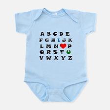 I love you Infant Bodysuit