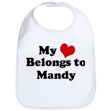 My Heart: Mandy Bib