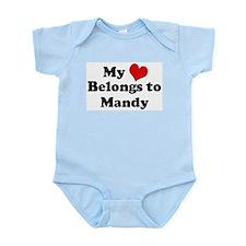 My Heart: Mandy Infant Creeper