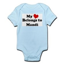 My Heart: Mandi Infant Creeper