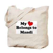 My Heart: Mandi Tote Bag