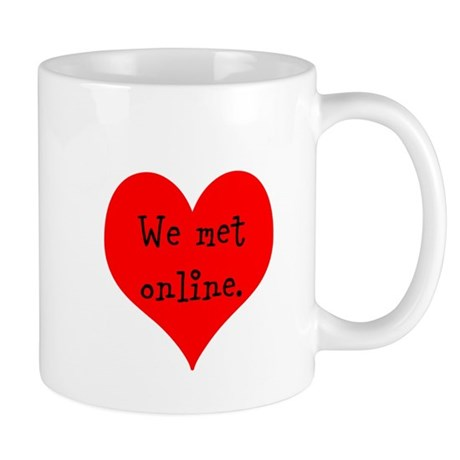 We met Online Mug